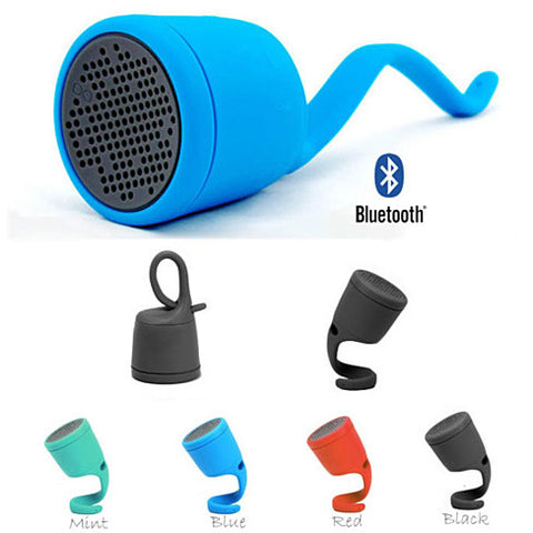 CURLY TWIRLY Bluetooth Waterproof Speaker That Curls Up And Hangs On - VistaShops - 2