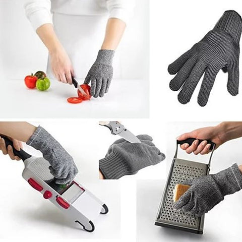 "Cut Resistant ""Love My Glove"" for kitchen and more"