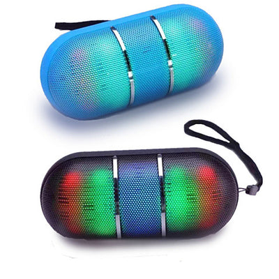 Dance With Me Portable Bluetooth Speaker With DISCO LED Lights - VistaShops - 1