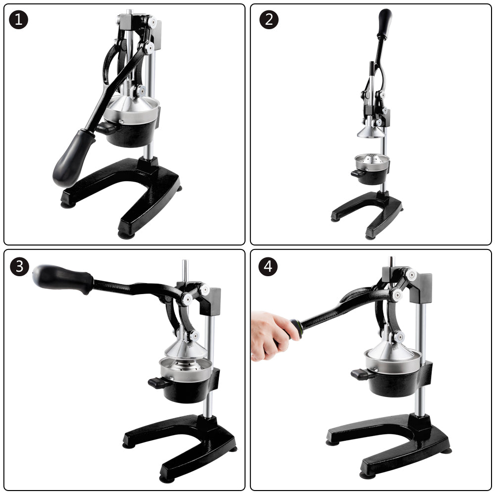 Commercial/Home Grade Citrus Juicer Hand Press, Manual Fruit Juicer, Fruit Juice Squeezer