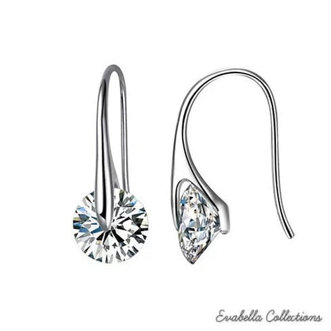 BOUTIQUE DIAMONDS - Charming Swarovski Drop Earrings - VistaShops - 3