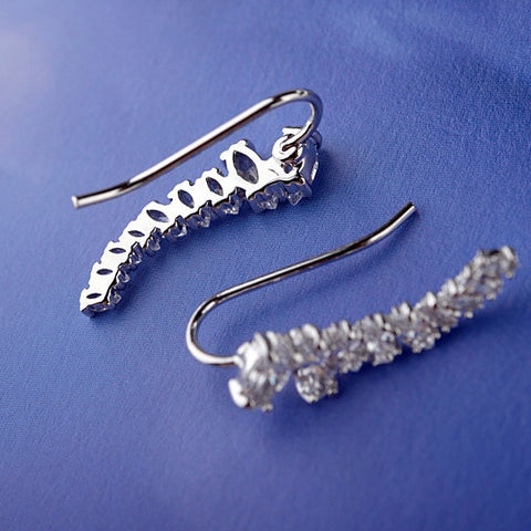 Uptown Girl Earrings Hip and Chic Ear Crawlers