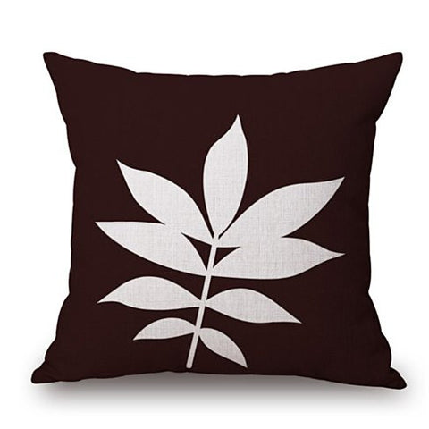 Foliage Love Autumn And Spring Leaf Cushion Covers
