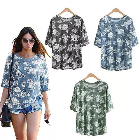 Hibiscus Garden Tropical Top In 3 Colors