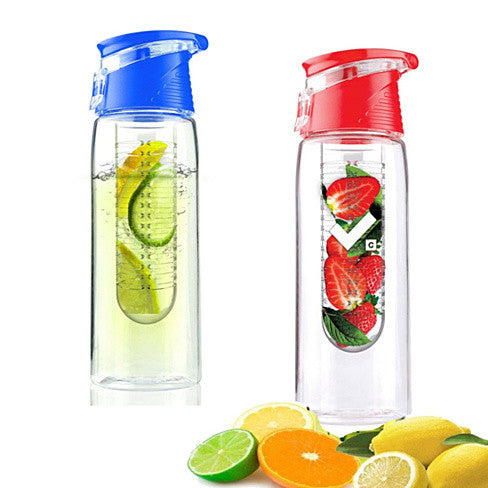 Fruit Cola Bottle a Fruit Infuser Drink Bottle - VistaShops - 1