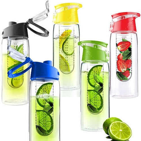 Fruit Cola Bottle a Fruit Infuser Drink Bottle - VistaShops - 2