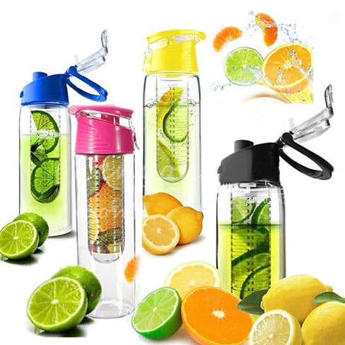 Fruit Cola Bottle a Fruit Infuser Drink Bottle - VistaShops - 4