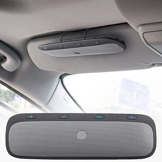 Handsfree Car Speakerphone With Dual Connection