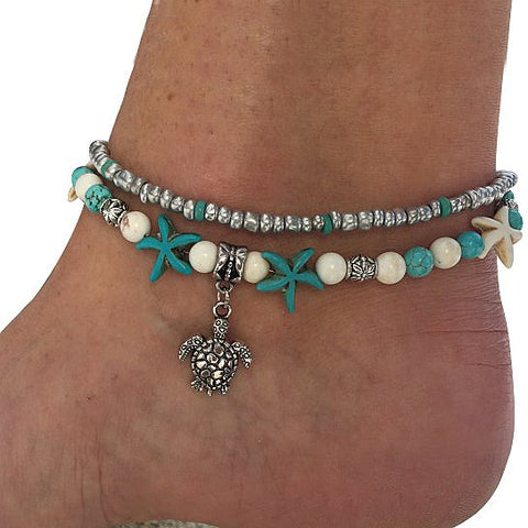 Sea Turtle Anklet