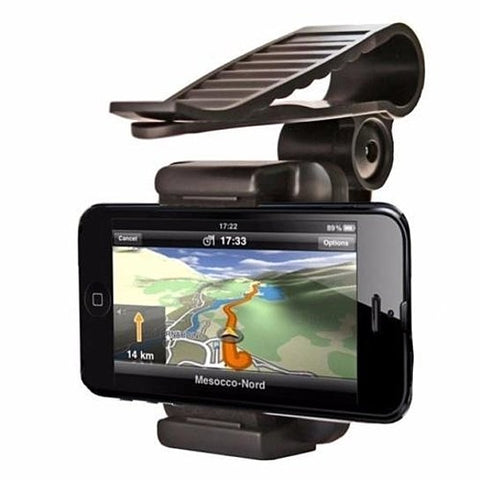 Car Visor Eye Level Clip Mount For Smart Phone or GPS