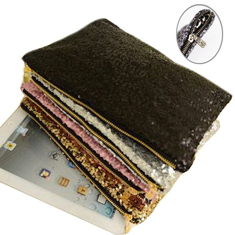 Glitterati Glam Clutch Sequins In 4 Colors - VistaShops - 2