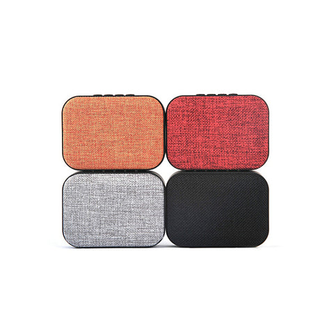 Clad Glad Vintage Style Bluetooth Speakers With Cloth Front