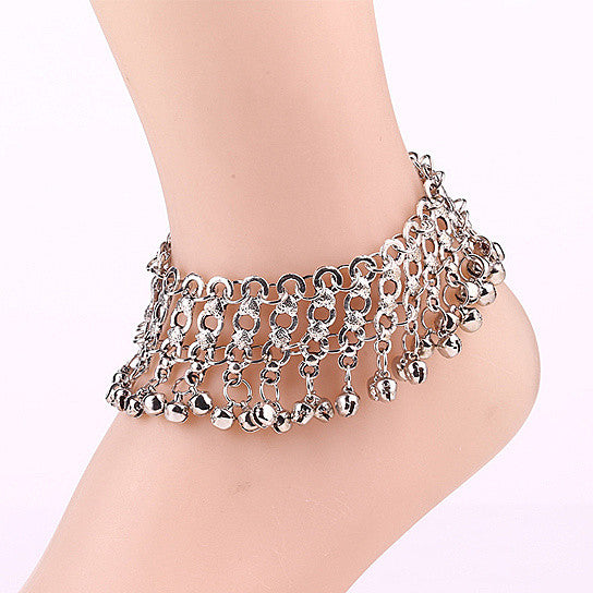Bella Anklets With Bell Charms