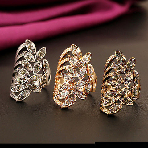 Gilda Ring Embellished Fashion Jewelry