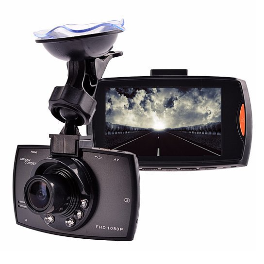 shopify-SafetyFirst HD 1080p Car Dash CamCorder with Night Vision-1