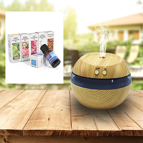 Aromita Humidifier + 6 Free Organic Aroma Scents For Your Wellness