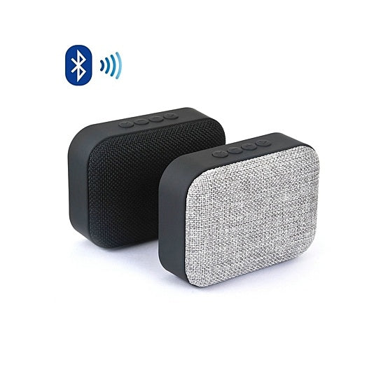 shopify-Clad Glad Vintage Style Bluetooth Speakers With Cloth Front-2