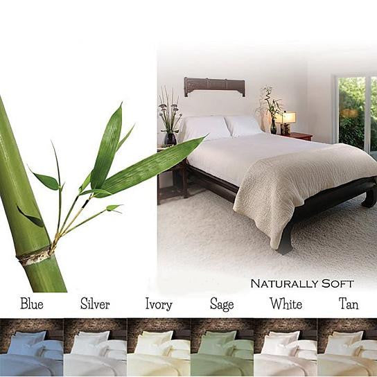 shopify-6-Piece Luxury Soft Bamboo Bed Sheet Set in 12 Colors-2