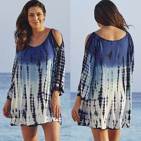 Pacifica Tunic In Tropical Tie Dye