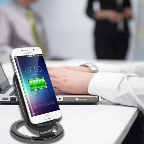 Fast Charge 2 in 1 Wireless Qi Charger for Samsung Phones