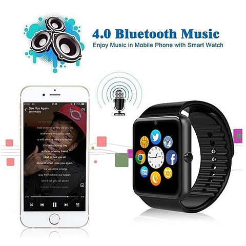 Bluetooth Smart Watch Phone Wrist Watch for Android and iOS