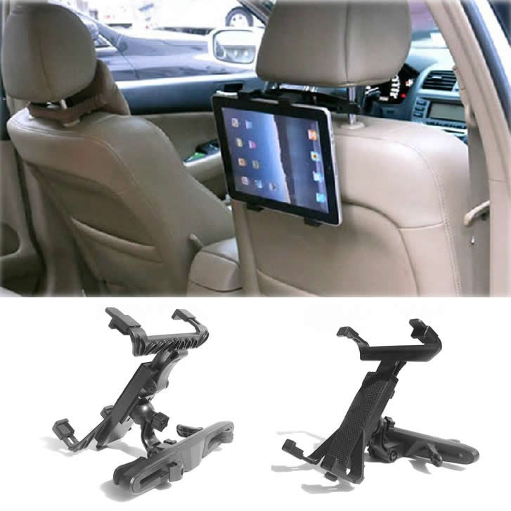 Car Headrest Stand for iPad and Tablets - VistaShops - 1