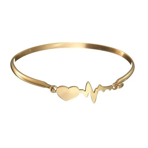 Love Your Heartbeat Bracelet