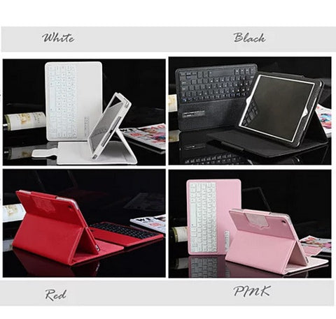 iPad Air 1 & 2 Case with Removable Bluetooth Keyboard - VistaShops - 2