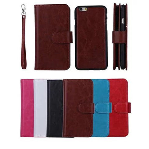 iPhone 6/6 Plus and Samsung Smartphone Removable Wallet Case with Wristlet - VistaShops - 2