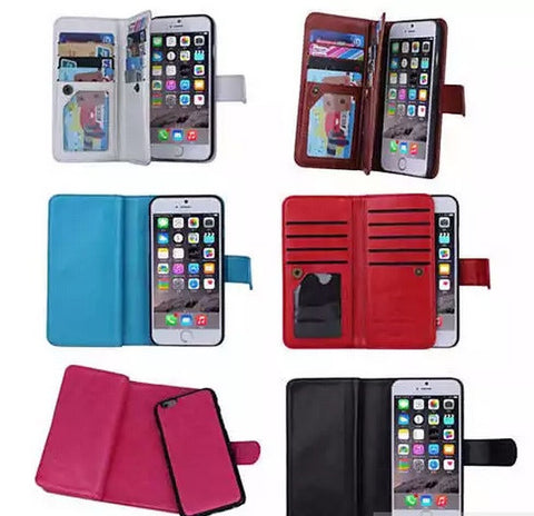 iPhone 6/6 Plus and Samsung Smartphone Removable Wallet Case with Wristlet - VistaShops - 3