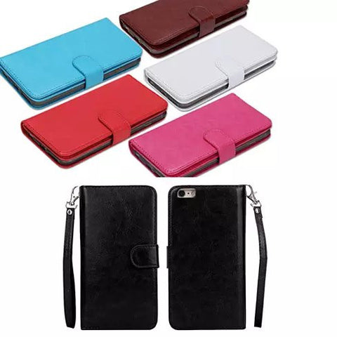 iPhone 6/6 Plus and Samsung Smartphone Removable Wallet Case with Wristlet - VistaShops - 6