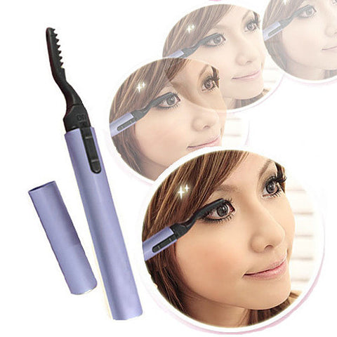 Lovely Lash - Portable Heated Eyelash Curler For Instant Curvy lashes - VistaShops - 3