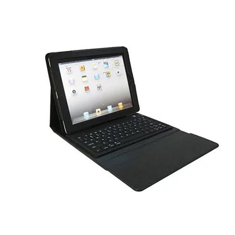 iPad Portfolio with built in Bluetooth keyboard for iPad 2/3/4 - VistaShops - 1