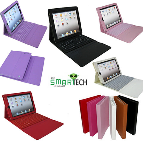 iPad Portfolio with built in Bluetooth keyboard for iPad 2/3/4 - VistaShops - 3