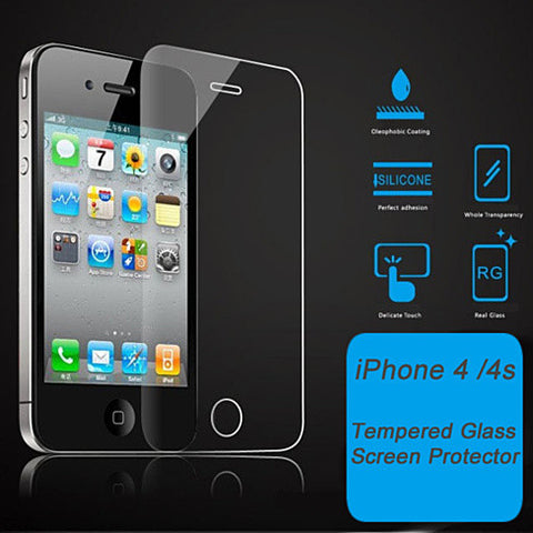 iPhone 4/4s & 5/5s/5c Glass Screen Protector - VistaShops - 4