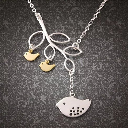 It's All In The Family 925 Sterling Silver Necklace - VistaShops - 3