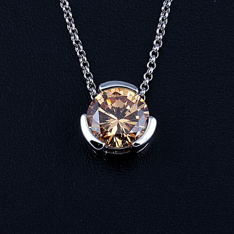 The Sentry - Pendant for a 12 mm Round Precious Stone - VistaShops - 3