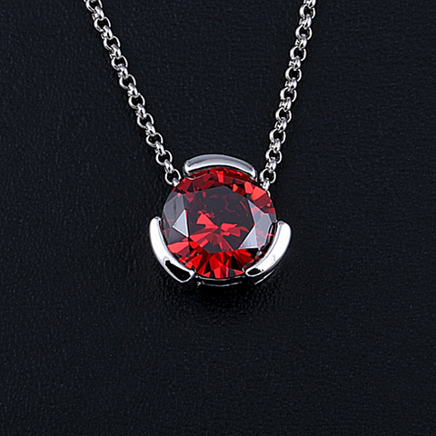 The Sentry - Pendant for a 12 mm Round Precious Stone - VistaShops - 4
