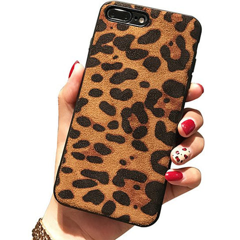 Wild Cat iPhone Case With Leopard Print Design