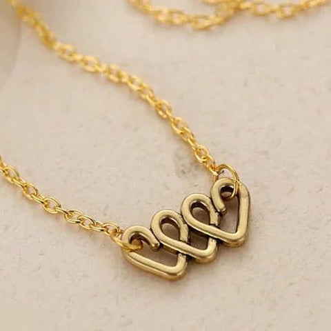 Love Is On The Roll Pendant & Chain - VistaShops - 2