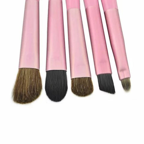 The Beautiful Traveler Makeup Brush Set in a compact Travel case - VistaShops - 4