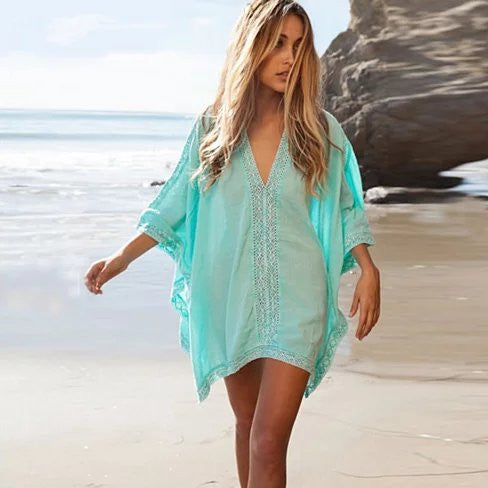 shopify-Caribbean Caftan Cover Up-1