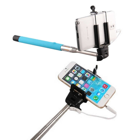 Never Charge Auto Monopod Selfie Stick - PLUS A BONUS FREE REMOTE! - VistaShops - 2