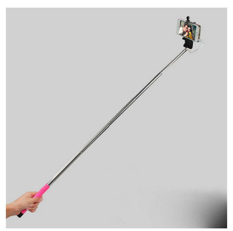 Never Charge Auto Monopod Selfie Stick - PLUS A BONUS FREE REMOTE! - VistaShops - 4