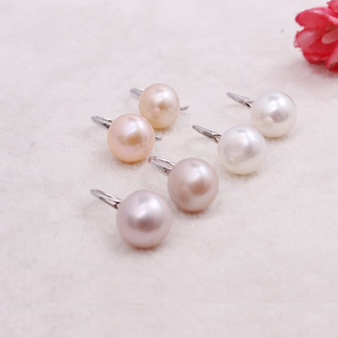 Moon in the Sky bright Pearl Earrings in Set of 3 - VistaShops - 2