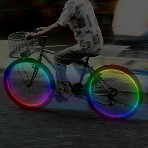 MULTI LED Bike Wheel Lights also for cars and Motorcycle