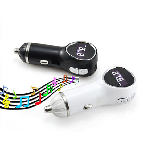 Music Broadcaster & Charger in any car for your Smartphone - VistaShops - 1