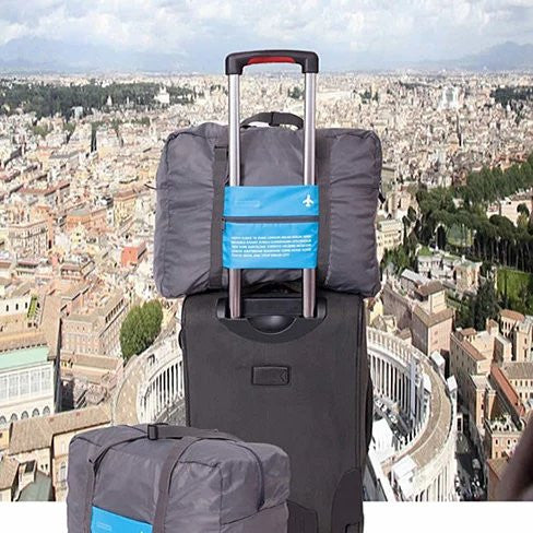 My Bag Buddy For World Traveler Compact Expandable Carry on Bag - VistaShops - 1