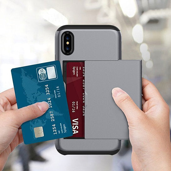 Open Sesame iPhone Case And Credit Card Storage