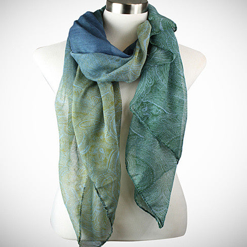 Pretty in Persia - The Paisley Scarves - VistaShops - 1
